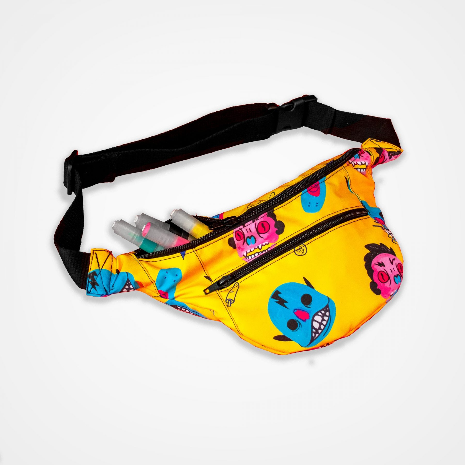 Canguro impermeable Banditas hate (frontal)