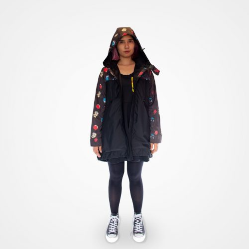 Cazadora impermeable Bad things (mujer)