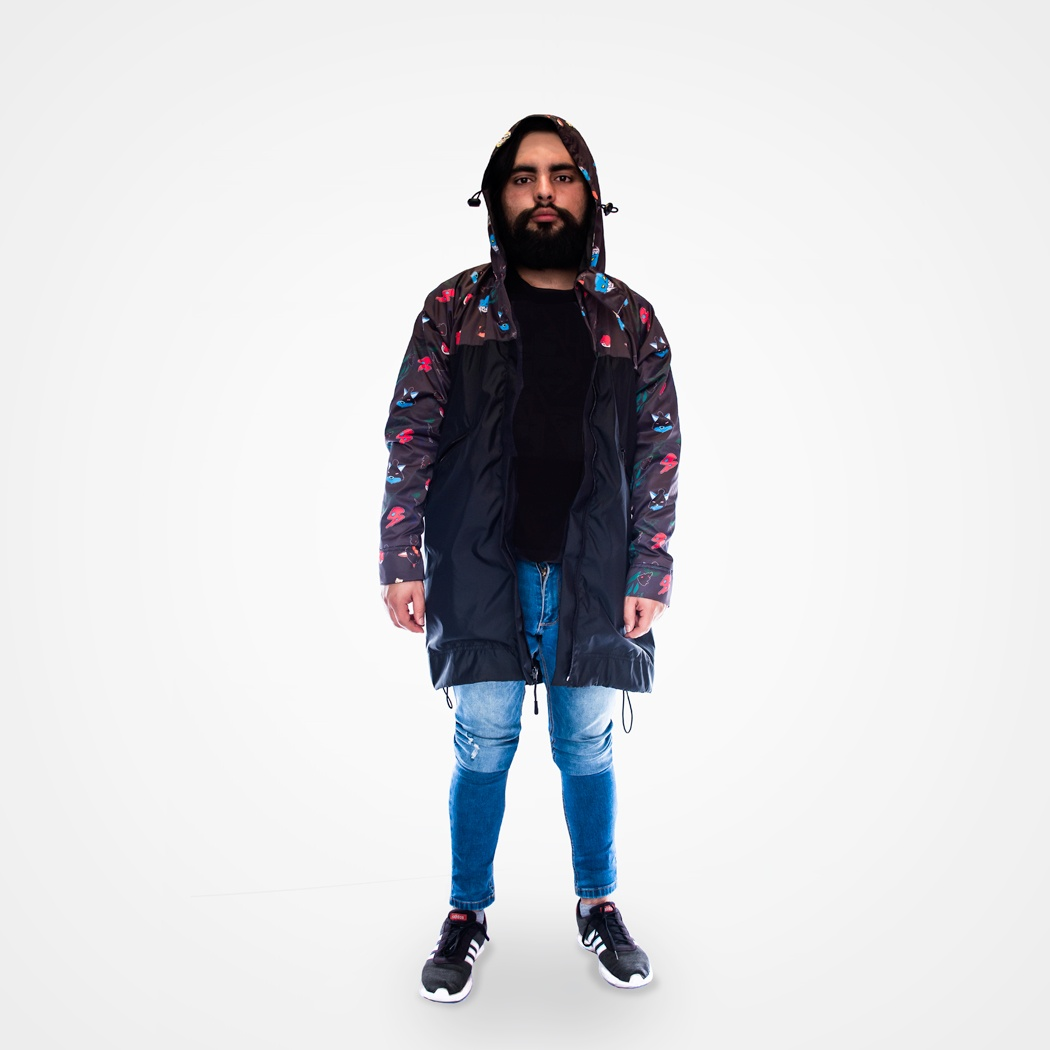 Cazadora impermeable Bad things (hombre)