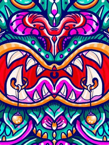 dragon aura de papel