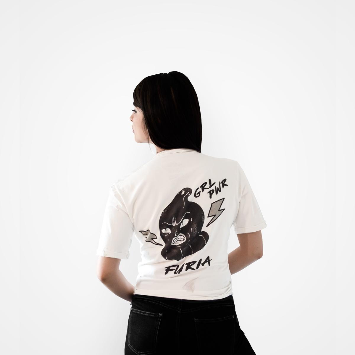 Camiseta Fury Mujer