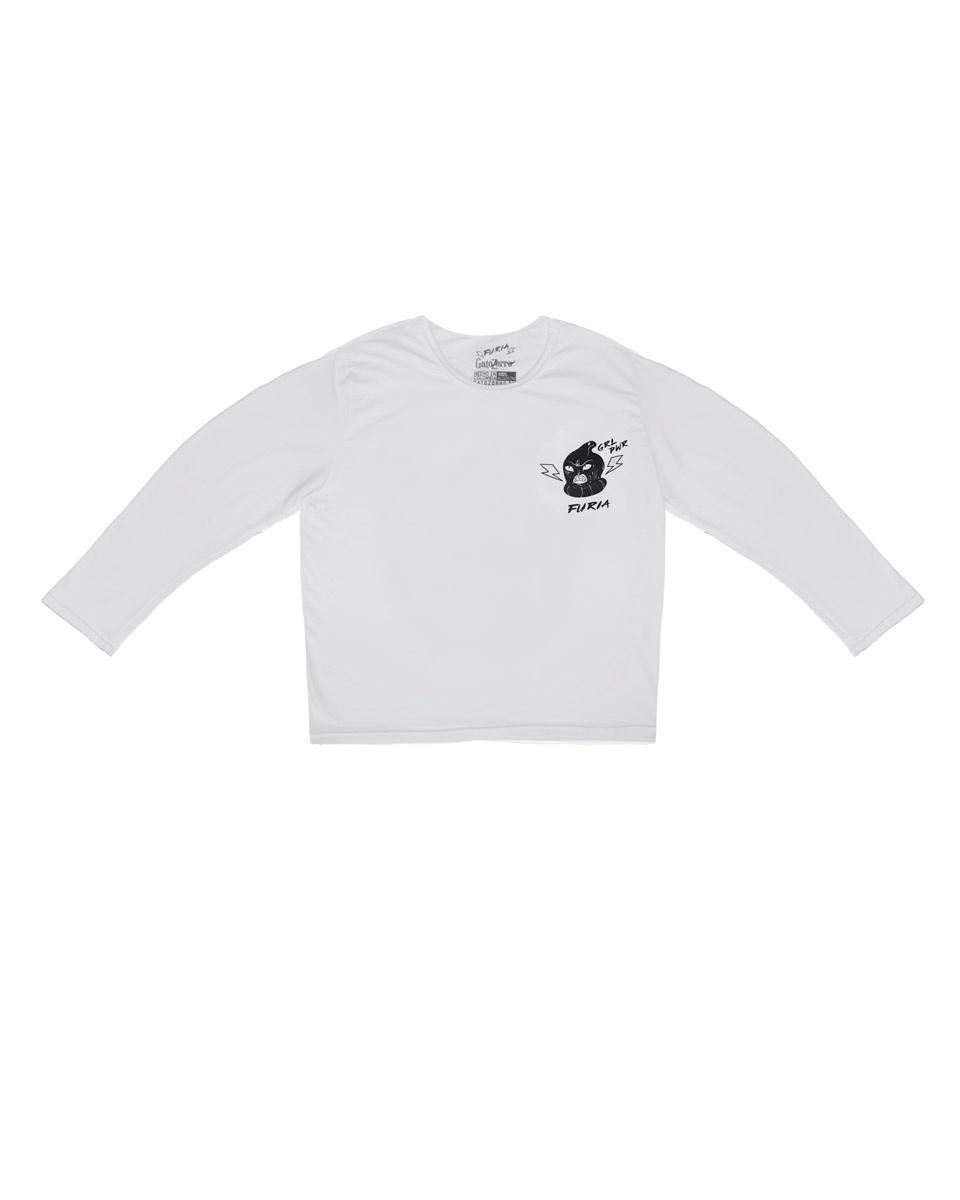 Camiseta Fury Hombre manga larga