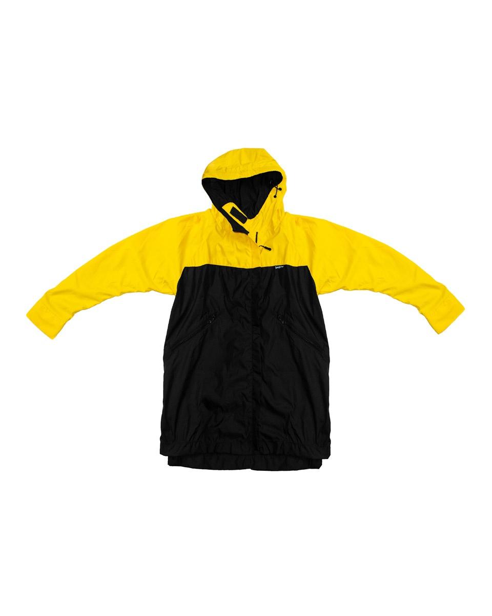 chaqueta amarilla gatozorro simple Ropa ilustrada calle bogotá
