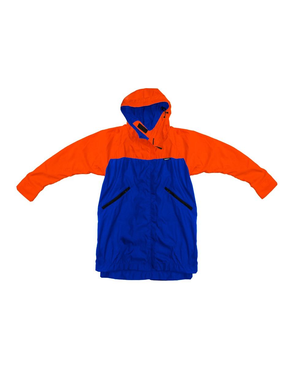 Chaqueta Naranja Azul